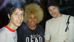 Adam Green, Kimya Dawson, Paleface. July 29, 2001 Photo © Jon Berger.